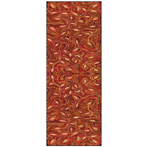Red Earth Wool Scarf 70cm x 180cm