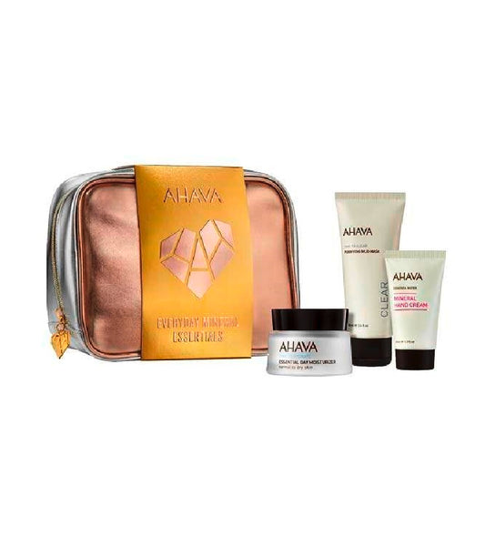AHAVA Everyday Mineral Essentials Skin Care Gift Set
