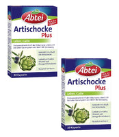 2x Pack Abtei Artichoke Plus Capsules with Artichoke Extract and Olive Oil - Eurodeal.shop