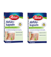 2x Pack Abtei Laxative Capsules - 40 per pack - Eurodeal.shop