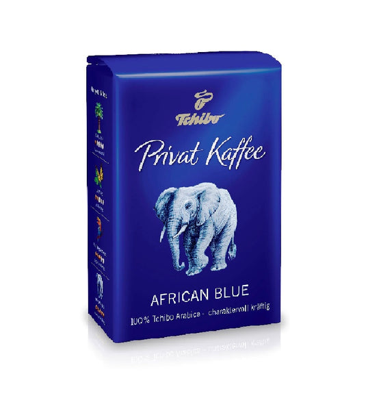 Tchibo - Private Coffee -  African Blue - 500g whole beans - Eurodeal.shop