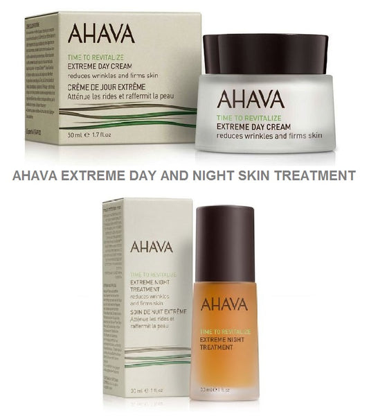 AHAVA EXTREME Day Face Cream + EXTREME Night Treatment Set