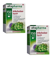 2x Packs Altapharma Artichoke Capsules Dietary Supplement for Digestion - Eurodeal.shop