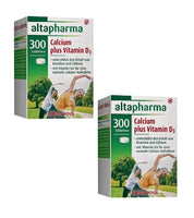 2x Packs Altapharma Calcium plus Vitamin D3  - 600 Tablets Supply - Eurodeal.shop