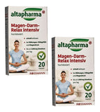 2xPack Altapharma Gastrointestinal Relaxing Capsules - 40 pieces