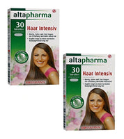 2x Packs Altapharma Hair Intensive Vitamins and Minerals & L-cysteine - Eurodeal.shop