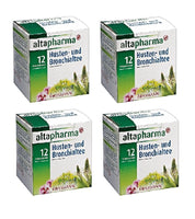 4xPack Altapharma Cough and Bronchial Tea, 12 x1.5 g,18g per pack