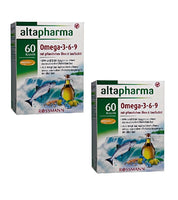 2xPacks Altapharma Dietary Supplement with Omega-3-6-9 Acids+Vitamin E - Eurodeal.shop