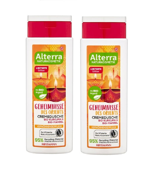 2xPack Alterra Secrets of the Orient Cream Shower - 500 ml