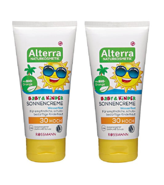 2xPack Alterra Baby & Children Sunscreen SPF 30 - 150 ml
