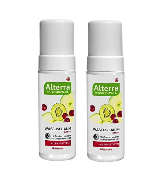 2xPack Alterra Gentle Wash Foam - 150 ml