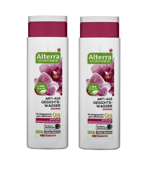 2xPack Alterra Orchid Anti-age Facial Toner - 300 ml