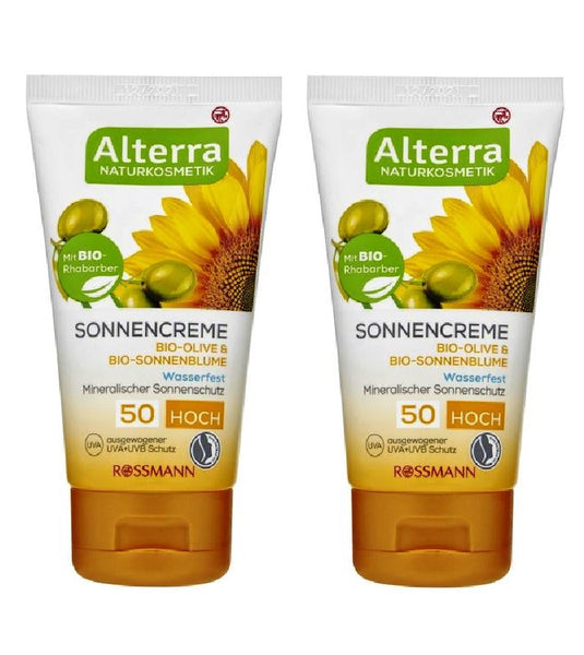 2xPack Alterra Sun Cream SPF 50 - 150 ml