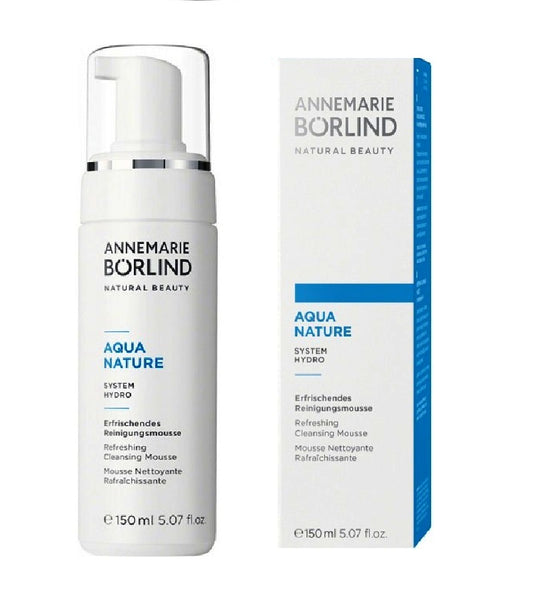 ANNEMARIE BÖRLIND AQUANATURE SYSTEM HYDRO Refreshing Cleansing Mousse - 150 ml
