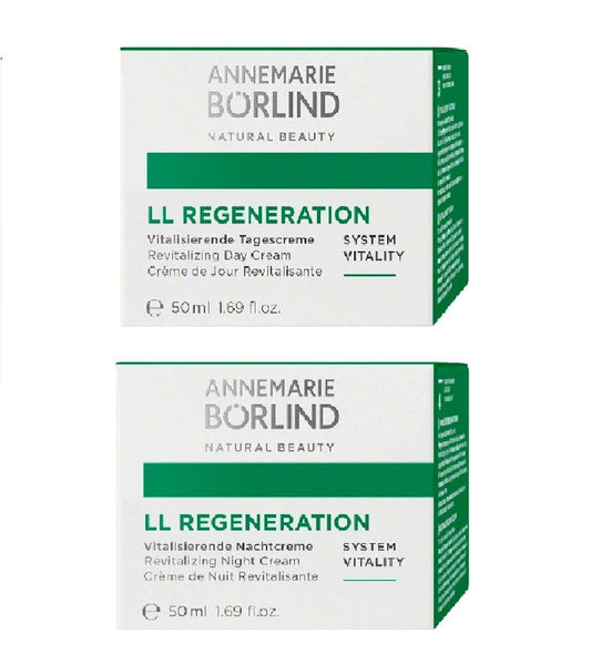 ANNEMARIE BÖRLIND LL REGENERAT SYSTEM VITALITY Day & Night Cream Set