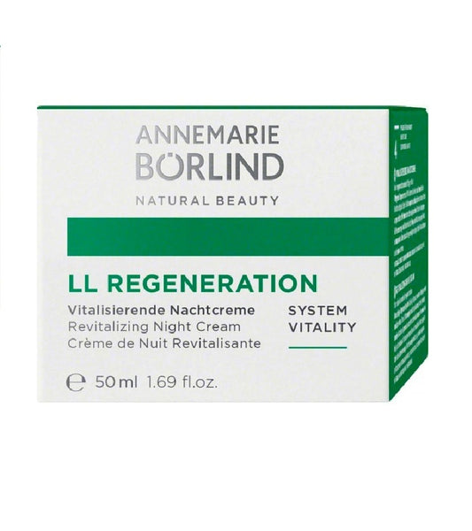 ANNEMARIE BÖRLIND LL REGENERATION SYSTEM VITALITY Vitalizing Night Cream - 50 ml