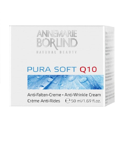 ANNEMARIE BÖRLIND PURA SOFT Q10 Anti Wrinkle Cream - 50 ml