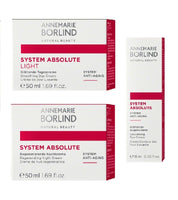 ANNEMARIE BÖRLIND SYSTEM ABSOLUTE Day, Night and Eye Cream Set