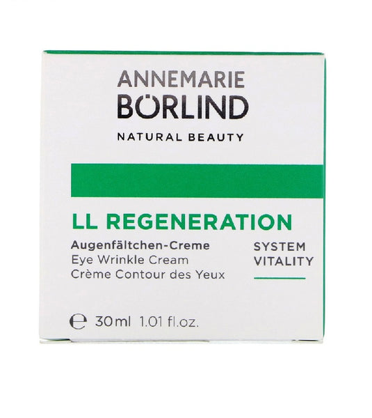 ANNEMARIE BÖRLIND LL REGENERATION SYSTEM VITALITY Eye Wrinkle Cream - 30 ml