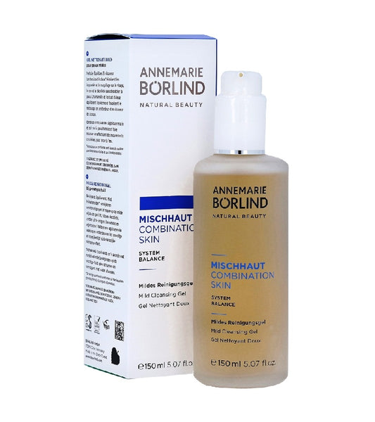 ANNEMARIE BÖRLIND COMBINATION SKIN SYSTEM BALANCE Mild Cleansing  Gel - 150 ml