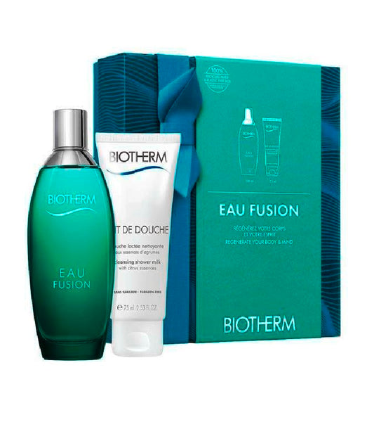 Biotherm Eau Fusion Eau de Toilette Fragrance and Body Care Gift Set
