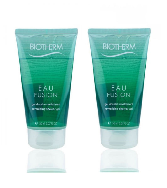 2xPack Biotherm Eau Fusion Shower Gel - 300 ml