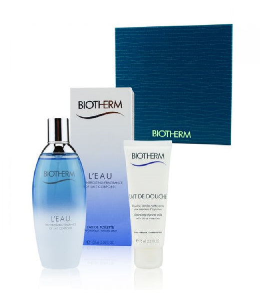 Biotherm L'Eau Set Eau de Toilette 100ml & Shower Milk 75ml Set