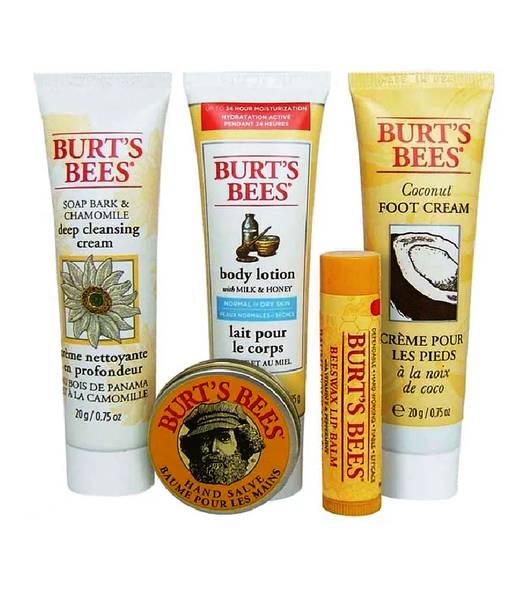 Burt's Bees ESSENTIAL KIT 5-Piece Body Care Set