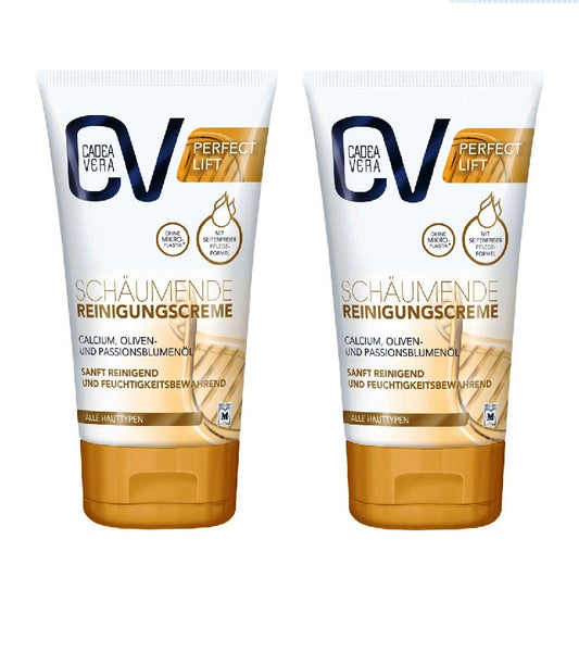 2xPack CV (CadeaVera) Perfect Lift foaming Cleansing Cream - 300 ml