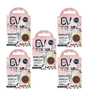 5xPack CV (Cadeavera) Wake-up Caffeine Ampoules - 10 ml