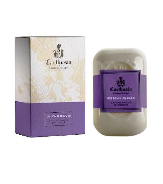Carthusia Gelsomini di Capri Delicate Body Soap with Bergamotto, Lemon and Mandarin - 125 g