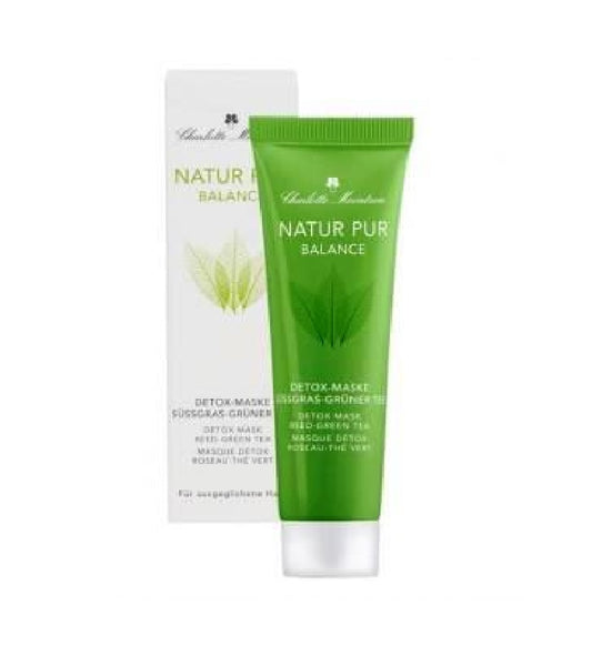 Charlotte Meentzen Natur Pur Balance Detox Mask Sweet Grass Green Tea - 30 ml