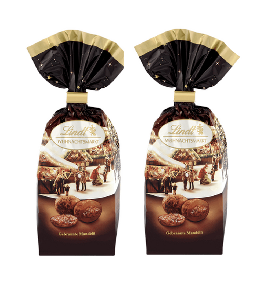 2xPack Lindt Christmas Market Roasted Almonds - 200 g