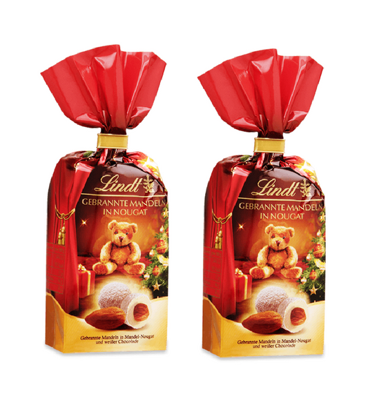 2xPack Lindt Christmas Tadition Roasted Almonds - 200 g