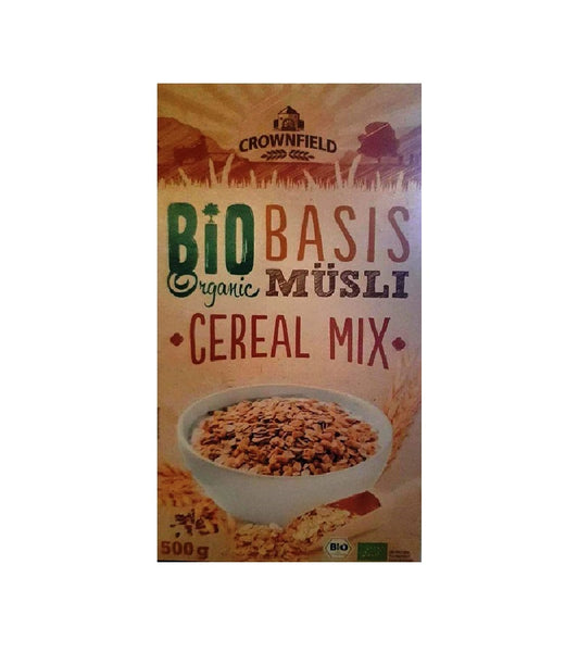 Crownfield Bio Organic Multi-Grain Cereal Mix Museli Breakfast Cereal