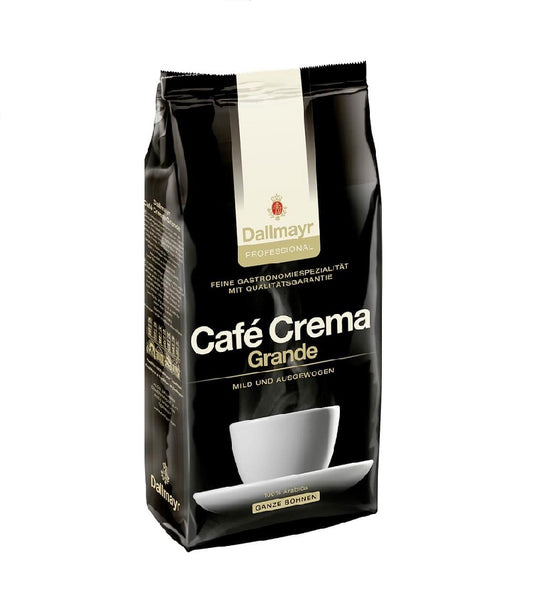 Dallmayr Cafe Crema Grande Roasted Coffee Whole Beans - 1 kg