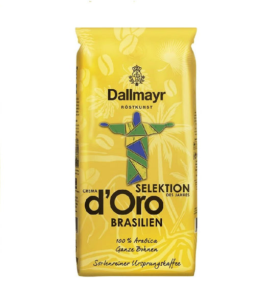 Dallmayr Crema d Oro Selection of the year Braziiean Coffee Whole Beans - 1 kg