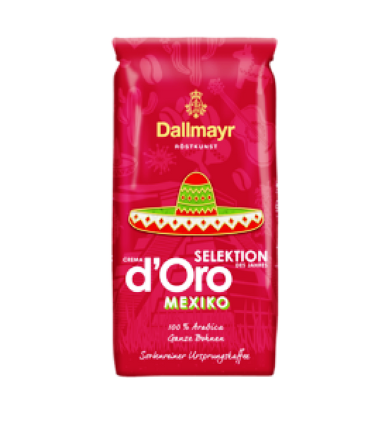 Dallmayr Caffe Crema d'Oro Selection of the Year Mexico Whole Beans - 1 kg
