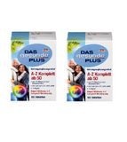 2x Pack DAS Gesunde PLUS, A-Z Complete from Age 50+ Tablets - Eurodeal.shop