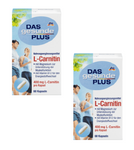 2x Packs Das Gesunde Plus L-Carnitine, Vitamins B6 and B12+ Magnesium - Eurodeal.shop