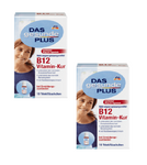 2x Packs Das Gesunde Plus B12 Vitamin Treatment Ampoules, 20 Pieces - Eurodeal.shop