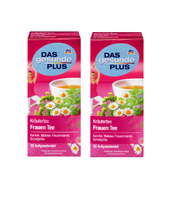 2x Packs Das Gesunde PLUS Women's Herbal Tea 50g - Eurodeal.shop