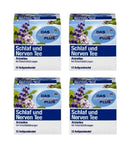 4x Pack Das Gesunde Plus or Altapharma Sleep and Nerves Tea - 48 Bags