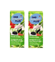 2x Packs Das Gesunde PLUS Sweetner with Stevia, 150 g - Eurodeal.shop