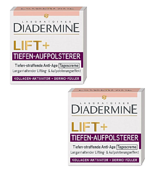 2xPacks Diadermine Lift+ Deep Cushions Deep Firming Anti-Age Day Cream - Eurodeal.shop