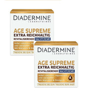 2xPack Diadermine Age-Supreme Extra Rich Skin Revitalizing Night Cream