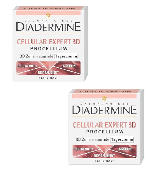 2xPack Diadermine Cellular Expert 3D Procellium Day Cream