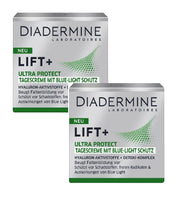 2xPack Diadermine Lift+ Ultra Protect Day Cream w/ Blue Light Protect - 100 ml