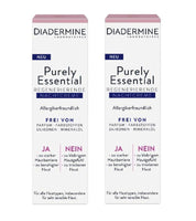*NEW* 2xPack Diadermine Purely Essential Regenerating Night Creams