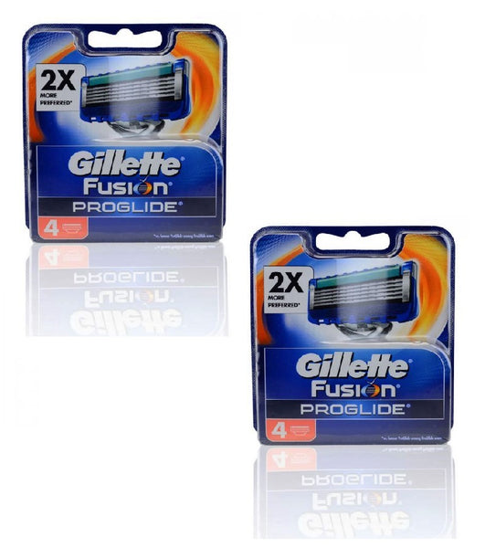 2xPack Gillette Fusion ProGlide Replacement Blades - 8 Cartridges